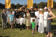 (C-R) Stylist Rachel Zoe, host Vanessa Kay, Delfina Blaquier, Host Nacho Figueras and the Black Watch Polo Team pose with award during the Veuve Clicquot Polo Classic Los Angeles at Will Rogers State Historic Park on October 9, 2011 in Los Angeles, California.