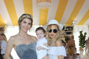 (L-R) Delfina Blaquier, Skylar Berman and stylist Rachel Zoe attend Veuve Clicquot Polo Classic Los Angeles at Will Rogers State Historic Park on October 9, 2011 in Los Angeles, California.