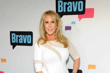 Vicki Gunvalson Celebs at the Bravo New York Upfront