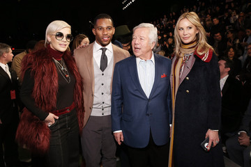 Victor Cruz Tommy Hilfiger Women's Collection - Front Row - Mercedes-Benz Fashion Week Fall 2015