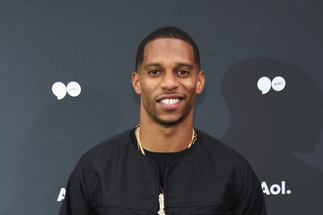 Victor Cruz AOL NewFront 2016 at Seaport District NYC