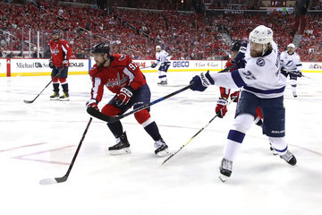 Victor Hedman Tampa Bay Lightning Vs. Washington Capitals - Game Three