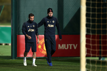Victor Lindelof Manchester United Training And Press Conference