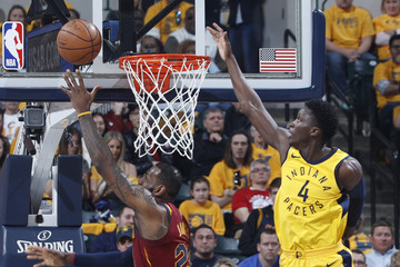 Victor Oladipo Cleveland Cavaliers v Indiana Pacers - Game Three