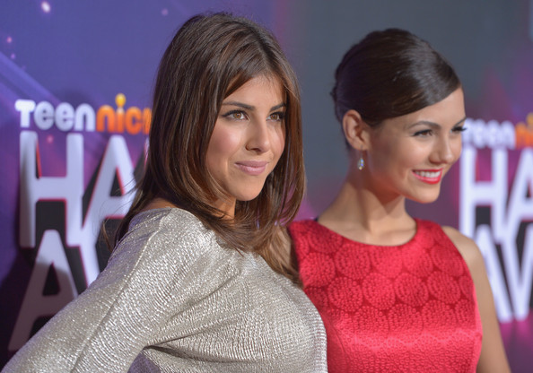 Daniella Monet and victoria justice