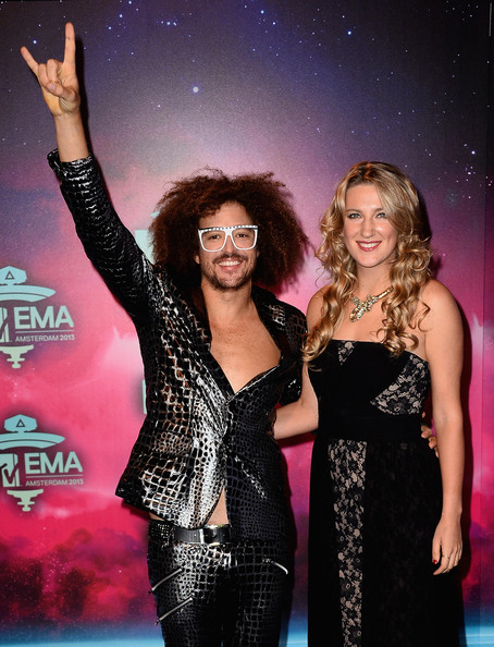 Victoria Azarenka - Arrivals at the MTV EMA's