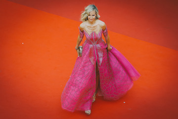 Victoria Hervey Lady. Alternative View In Colour - The 74th Annual Cannes Film Festival