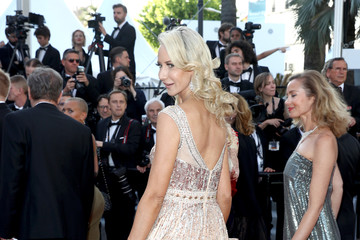 Victoria Hervey 'Capharnaun' Red Carpet Arrivals - The 71st Annual Cannes Film Festival