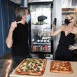 Victoria Hervey Prince Emanuele Filiberto Hosts VIP Opening For His New Restaurant Prince Of Venice
