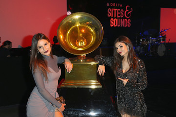 Victoria Justice Madison Justice Delta Air Lines Toasts GRAMMY Weekend with 'Sites and Sounds,' A Private Performance And Interactive Evening With GRAMMY Nominated Artist Leon Bridges, At NeueHouse Los Angeles