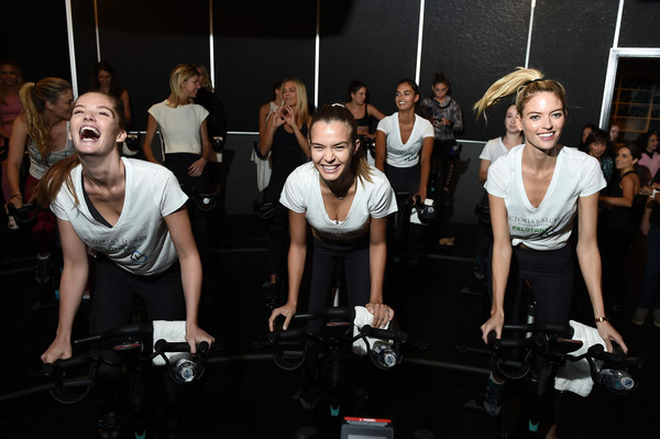 Victoria's Secret Angel Cycle To End Cancer