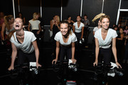 Victoria's Secret Angel Cycle To End Cancer Hosted By Angels Martha Hunt, Josephine Skriver, Alexina Graham, Chey Carty, Gizele Oliveira, Josie Conseco, Lorena Duran And Sofie Rovenstine At Flywhee