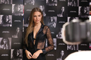 Victoria's Secret Celebrates New Fall Collection With Angel Josephine Skriver In Boston