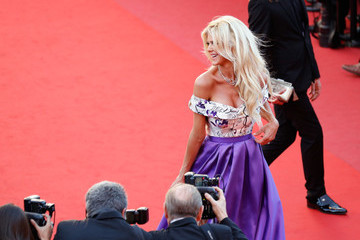 Victoria Silvstedt 'Okja' Red Carpet Arrivals - The 70th Annual Cannes Film Festival