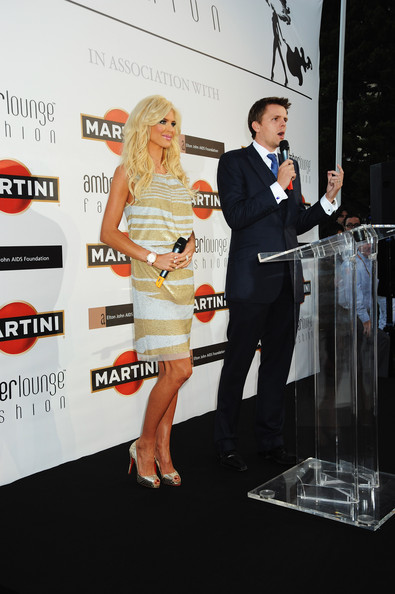 Martini At Amber Fashion Lounge [premiere,event,footwear,dress,carpet,cocktail dress,red carpet,flooring,suit,fashion accessory,martini,victoria silvstedt,jake humphrey,amber fashion lounge,monte carlo,monaco,meridien beach plaza,auction,amber fashion show]