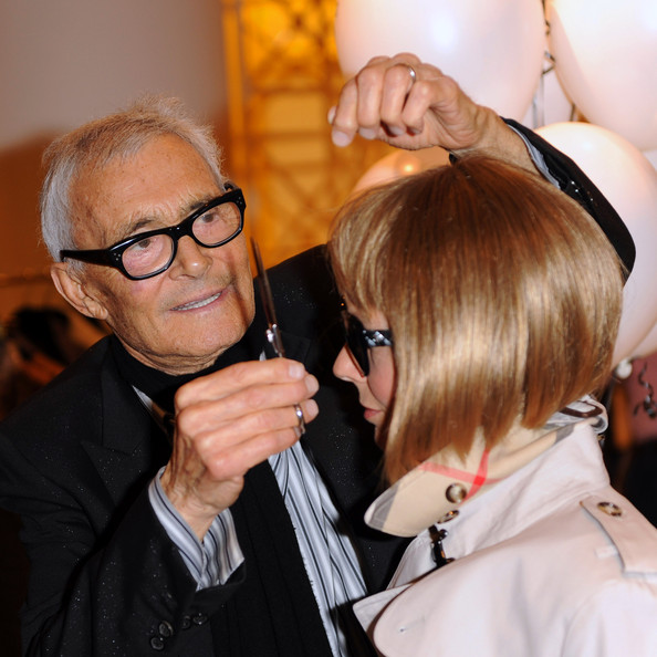 Vidal Sassoon, created the wedge bob hair style