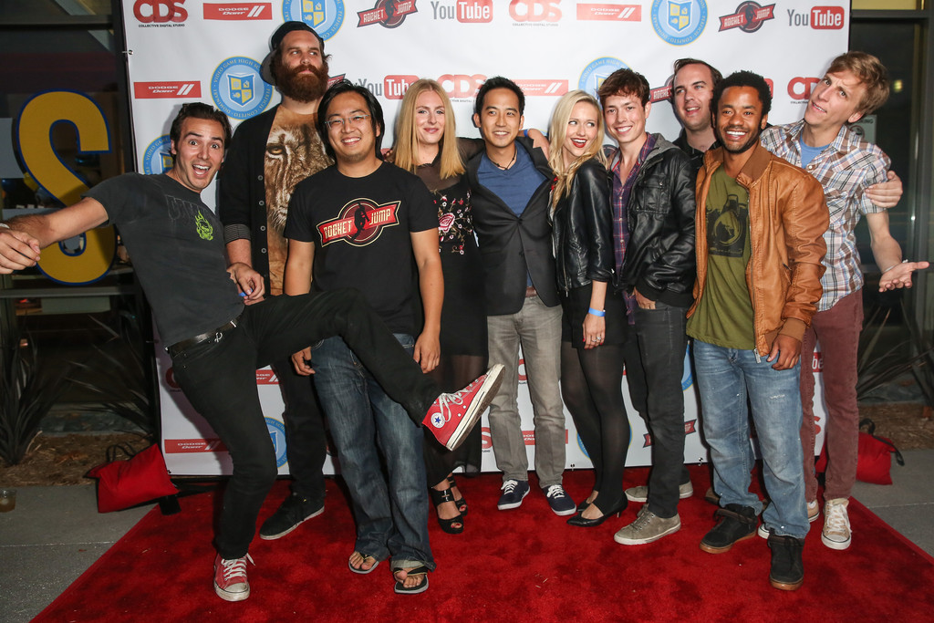 harley morenstein and sauce boss photos   video game high