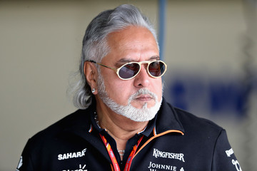 Vijay Mallya F1 Grand Prix of Great Britain - Practice