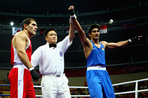 16th Asian Games - Day 14: Boxing []