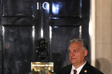 Viktor Orban NATO Leaders Summit Takes Place In The UK - Day One