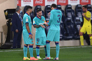 Lionel Messi and Luis Suarez Photos Photo