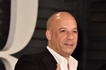 Vin Diesel Arrivals at the Elton John AIDS Foundation Oscars Viewing Party — Part 5
