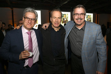 """Vince Gilligan Bob Odenkirk Premiere Of AMC's """"Better Call Saul"""" Season 5 - After Party"""
