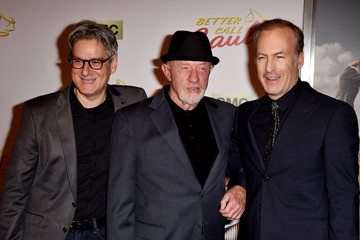 Vince Gilligan Jonathan Banks 'Better Call Saul' Premieres in LA