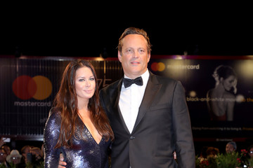 Vince Vaughn Kyla Weber 'Dragged Across Concrete' Red Carpet Arrivals - 75th Venice Film Festival