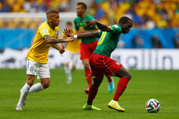 Vincent Aboubakar Cameroon v Brazil: Group A - 2014 FIFA World Cup Brazil