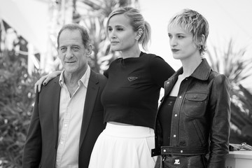 """Vincent Lindon Agathe Rousselle """"Titane"""" Photocall - The 74th Annual Cannes Film Festival"""