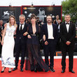 Vincent Macaigne Doubles Vies (Non Fiction) Red Carpet Arrivals - 75th Venice Film Festival
