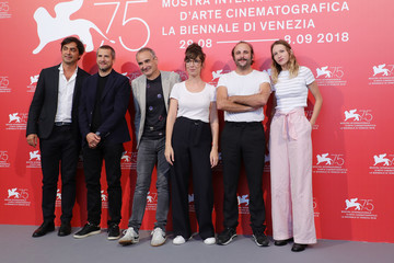 Vincent Macaigne Doubles Vies (Non Fiction) Photocall - 75th Venice Film Festival
