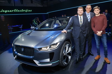 Vinnie Jones Jaguar Electrifies With I-Pace Concept Car
