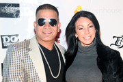 "(L-R) Prince Malik and TV personality from ""The Real Housewives of New Jersey"" Danielle Staub attend Vinny Guadagnino's IHAV clothing line launch party at Greenhouse on January 3, 2011 in New York City."