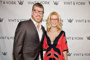 Simon Van Kempen and Alex McCord attends the Vint And York 2014 Collection NYFW Presentation on February 12, 2014 in New York City.