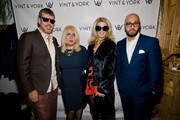 Simon Van Kempen, Larisa Ginzburg, Alex McCord, and Dmitriy Israel attend the Vint And York 2014 Collection NYFW Presentation on February 12, 2014 in New York City.