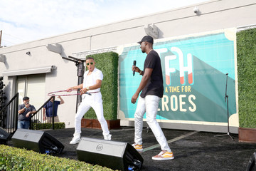 Vinz Elizabeth Glaser Pediatric AIDS Foundation 26th Annual A Time for Heroes Family Festival - Inside