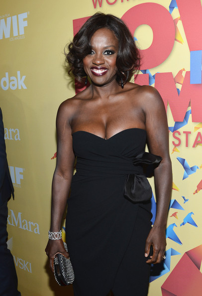 Viola Davis - 2012 Women In Film Crystal + Lucy Awards - Red Carpet