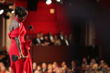 Viola Davis 89th Annual Academy Awards - Backstage