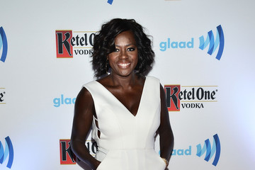 Viola Davis Ketel One Vodka Hosts The VIP Red Carpet Suite At The 26th Annual GLAAD Media Awards