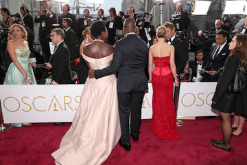 Viola Davis Arrivals at the 87th Annual Academy Awards — Part 2