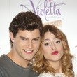 Diego Dominguez and Martina Stoessel