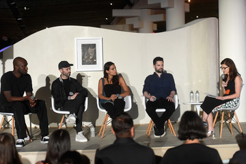 Virgil Abloh Take-Two Interactive Hosts the 'Open Worlds: Art in the Age of Interactivity' Panel in Miami