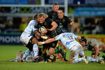 Virgile Lacombe Northampton Saints v Racing Metro 92 - European Rugby Champions Cup
