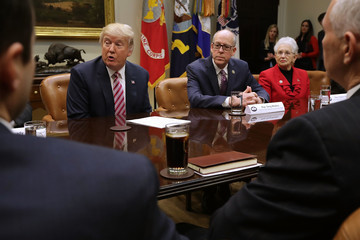 Virginia Foxx President Trump Discusses Healthcare Plan With Key House Committee Chairmen