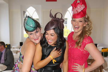 Virginia Gay Celebs Attend Melbourne Cup Day