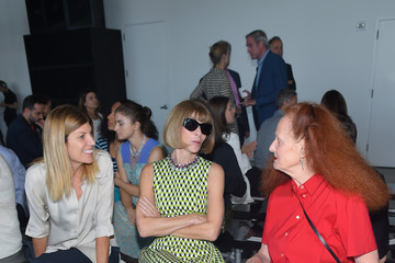 Virginia Smith Calvin Klein Collection - Front Row - Spring 2016 New York Fashion Week: The Shows