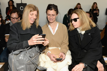 Virginia Smith Front Row at the Michael Kors Show