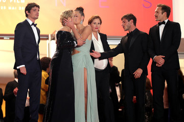 Virginie Efira Justine Triet 'Sibyl'Red Carpet - The 72nd Annual Cannes Film Festival